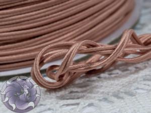 Сутажный шнур Япония матовый 3мм цвет Цветение