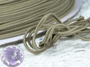 Сутажный шнур Япония матовый 3мм цвет Бежевый