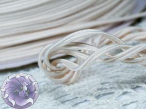 Сутажный шнур Япония матовый 3мм цвет Бледно-лиловый