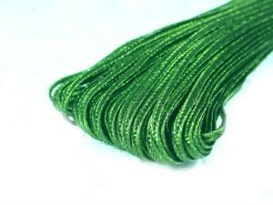 Сутажный шнур Индия металлизированный 3мм