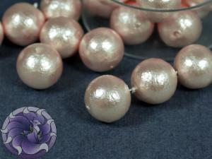 Хлопковый жемчуг Cotton Pearls 10mm Розовый Pink Japan
