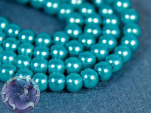 Жемчуг стеклянный 3мм 136-138шт цвет Бирюза