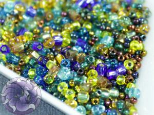 Бисер Miyuki Mini Mix Galactic Blue Gold 10г