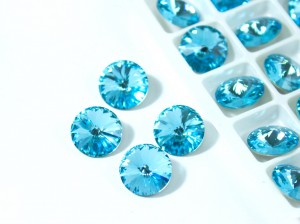 Риволи 12мм цвет Aquamarine
