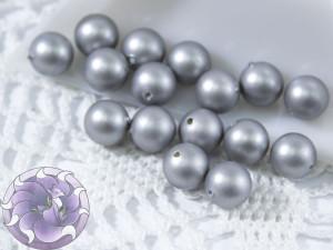 Бусина жемчуг shell pearl beads 8мм матовая