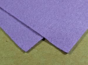 Мягкий фетр А4 20х30см Цвет сиреневый