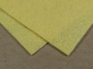 Мягкий фетр А4 20х30см Цвет бледно желтый