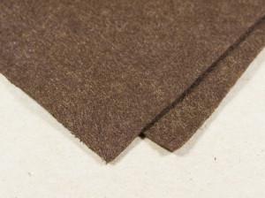 Мягкий фетр А4 20х30см Цвет темно коричневый