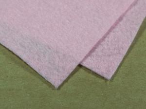 Мягкий фетр А4 20х30см Цвет бледно розоый