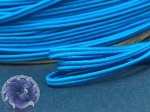 Сутажный шнур Япония матовый 3мм цвет Бирюза