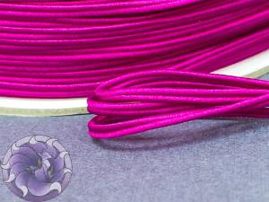 Сутажный шнур Япония матовый 3мм цвет Малина