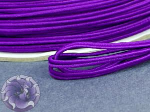 Сутажный шнур Япония матовый 3мм цвет Индиго