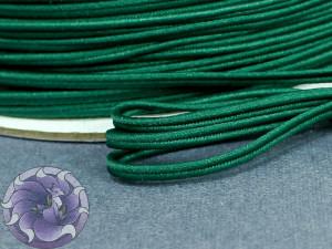 Сутажный шнур Япония матовый 3мм цвет Изумруд