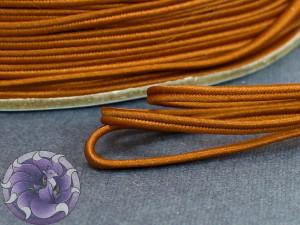 Сутажный шнур Япония матовый 3мм цвет Бронза