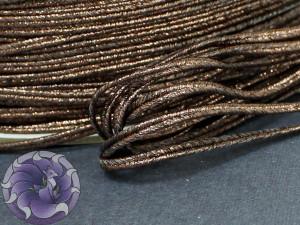 Сутаж металлический Япония 3мм цвет Бронза