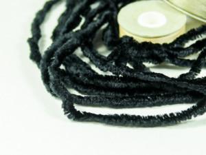 Синель Испания Вискоза 4мм черный