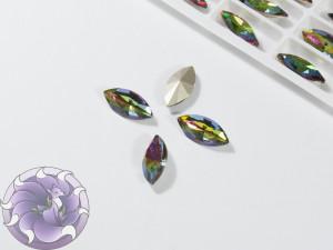 Кристалл Маркиз 15х7мм цвет Vitrail Medium