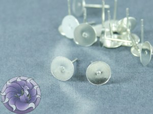 Швензы-гвоздики №48 Цвет серебро