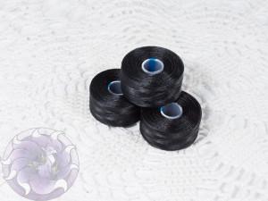 Нить для бисера C-LON size AA Black