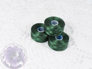 Нить для бисера C-LON size AA Dark Green