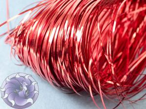 Бить плоская 10шт 1мм Scarlet red