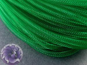 Трубчатый регилин 4мм, Цвет Зеленый
