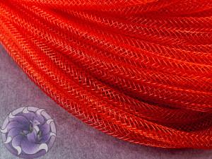 Трубчатый регилин 4мм, Цвет Красный