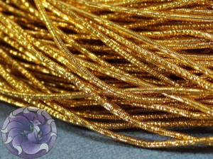 Канитель упругая 1.5мм цвет Медовый