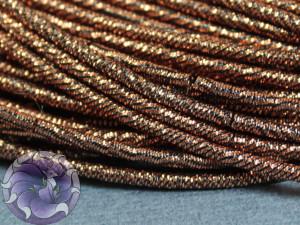 Канитель упругая 1.5мм цвет Античная бронза