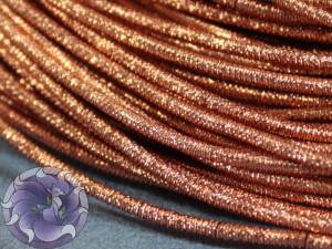 Канитель упругая 1.5мм цвет Медный