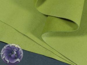 Кожа натуральная итальянская тонкая 0,8мм Цвет Болотный