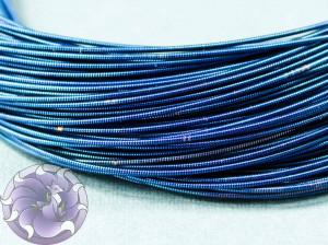 Канитель жесткая 1мм Синяя