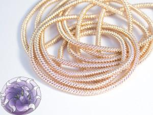 Канитель фигурная спиральная 1.5мм цвет Розовое золото