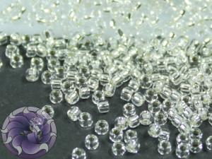 5г Бисер TOHO 15/0 Silver-Lined Crystal TR-15-21