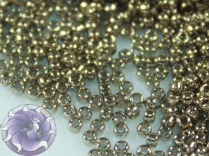 5г Бисер TOHO 15/0 Gold-Lustered Montana Blue TR-15-204