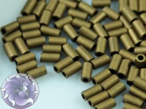 TOHO Стеклярус 5г - Bugle #1 (3mm) : Matte-Color Dk Copper TB-01-702