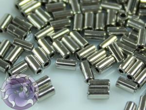 TOHO Стеклярус 5г - Bugle #1 (3mm) : Nickel TB-01-711
