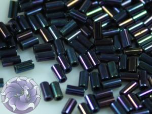 TOHO Стеклярус 5г - Bugle #1 (3mm) : Metallic Nebula TB-01-82