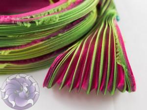 Шовкова стрічка шиборі (Shibori silk ribbon) L048
