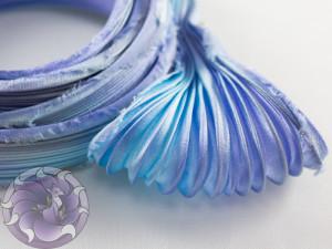 Шовкова стрічка шиборі (Shibori silk ribbon) L049