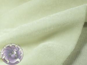 Шелковый бархат натуральный ручного окрашивания Цвет Белый не выбеленный