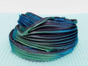 Шелковая Лента Шибори (Shibori silk ribbon) L246
