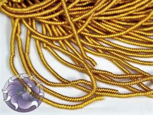 Канитель фигурная 1мм Золотая
