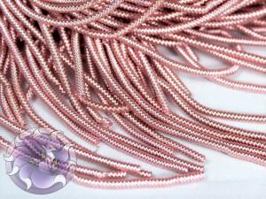 Канитель фигурная 1мм Светло-розовая
