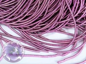 Канитель фигурная 1мм Розовая
