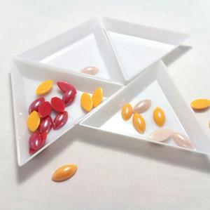 Лотки треугольнички для работы с бисером