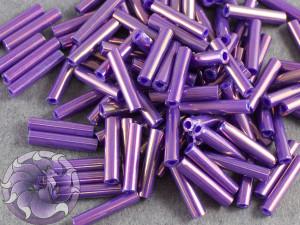 Стеклярус TOHO bugle #3 9мм Higher-Metallic Grape