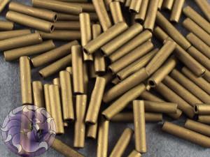 Стеклярус TOHO bugle #3 9мм Matte-Color Dk Copper
