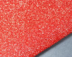 Кристальная ткань со стразами Tomato