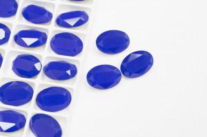 Стразы Овал 14*10мм цвет Синий Опал